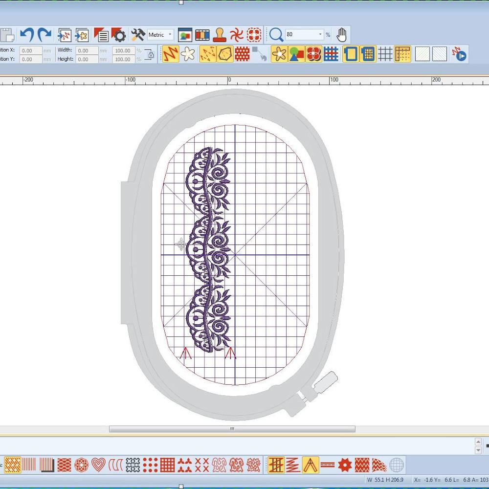 BERNINA-DesignerPlus-Positionierung